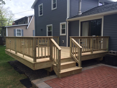 Deck Builder Rochester Ny on great bathroom designs for small spaces